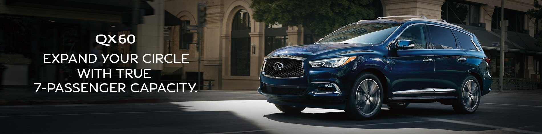 QX60 Expand Your Circle